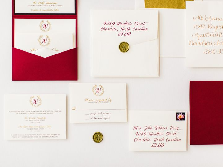 Tmx 1470083039237 Duke Mansion Grand Tasting 103 Of 118 Charlotte wedding invitation