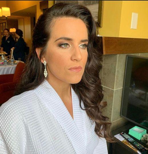 Hair/ makeup by Bobbie