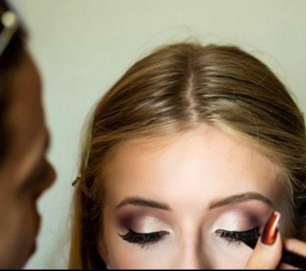 Hair/makeup by Bobbie