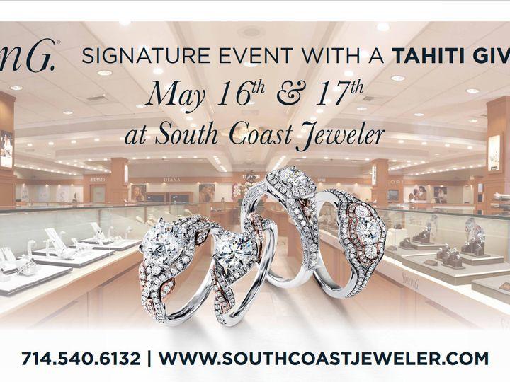 Tmx 1429058119022 Trunks Show Billboard Santa Ana, CA wedding jewelry