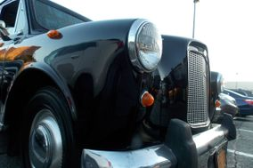 A1 OF A KIND VINTAGE LONDON BLACK TAXI CAB COMPANY