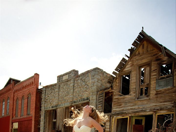 Tmx 1381248342964 Rock The Dress Andrew Mindy Ghost Town 5 Helena wedding photography