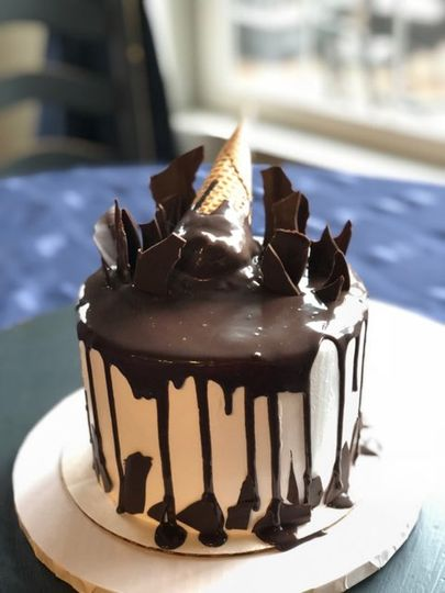 Perfect chocolate drip