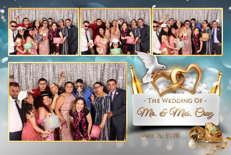 Mr. and Mrs. Cruz wedding