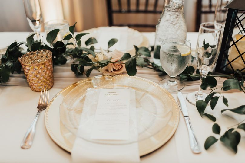 Tabletop decor + styling
