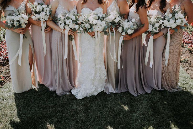 Bridesmaids + Floral design