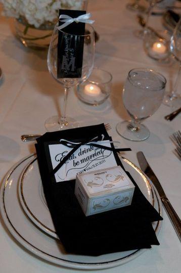 Wedding Menu example