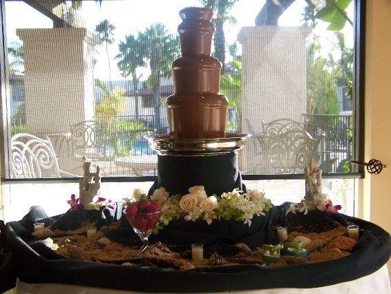 Tmx 1422570356843 Light Beach Themed Reception At The Kona Kai Carlsbad wedding cake