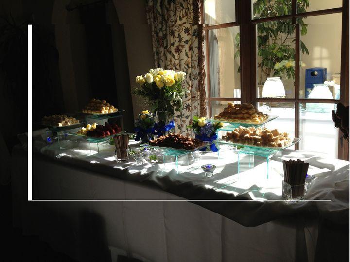 Tmx 1422570372691 Sunlight Beautifully Highlighting Dipping Treats Carlsbad wedding cake