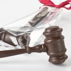 Tmx 1422571736542 Chocolate Gavel Carlsbad wedding cake