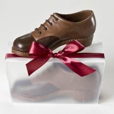Tmx 1422571748252 Chocolate Mens Oxford Shoe Carlsbad wedding cake