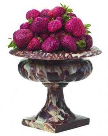 Tmx 1422571750582 Chocolate Pedestal Bowl With Strawberries Inside Carlsbad wedding cake