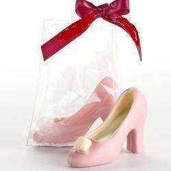 Tmx 1422571772753 High Heeled Shoe With White Interior  Pink Exterio Carlsbad wedding cake