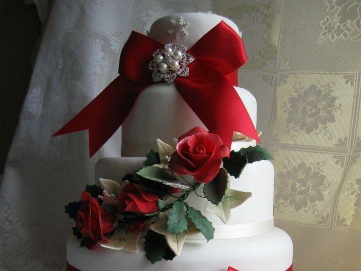 Tmx 1362760361566 Christmaslarge1 Kingston wedding cake