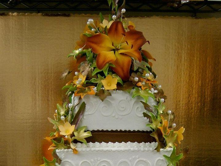 Tmx 1362760369306 FallthemedweddingcakebyTheEvIlPlankton Kingston wedding cake