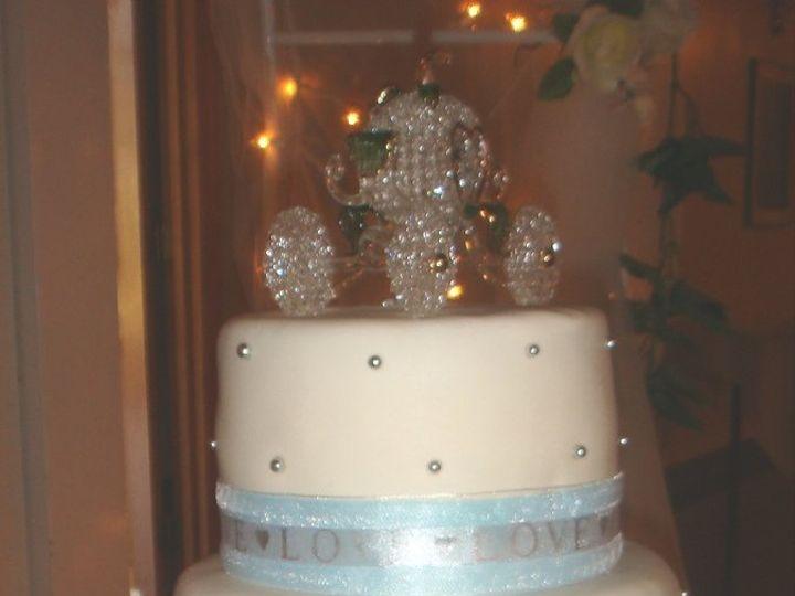 Tmx 1362760453579 Weddingcake Kingston wedding cake