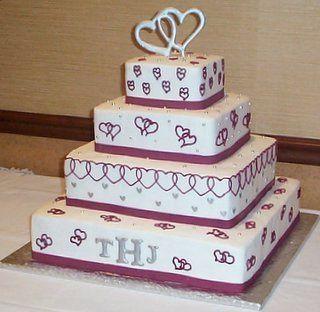 Tmx 1362760456440 Weddingcaketoppersmonogram Kingston wedding cake