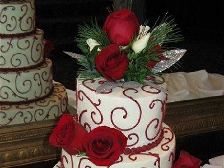 Tmx 1362760468273 Xmascake Kingston wedding cake