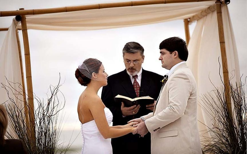 Beautiful Beach Ceremony