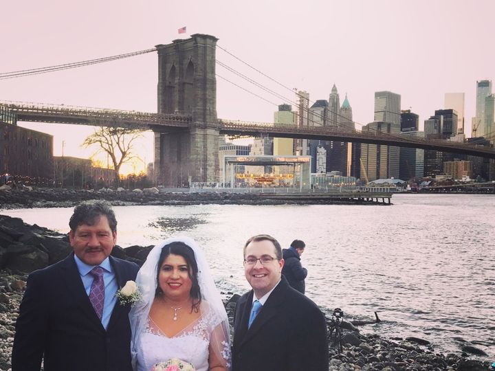 Tmx Brooklyn Bridge Wedding 51 1046295 New York, NY wedding officiant