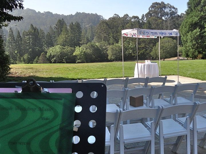 Tmx Jewish Wedding Ceremony About To Begin As Our String Duo Performs All The Music For The Ceremony 51 66295 1556857862 Pleasanton, CA wedding ceremonymusic