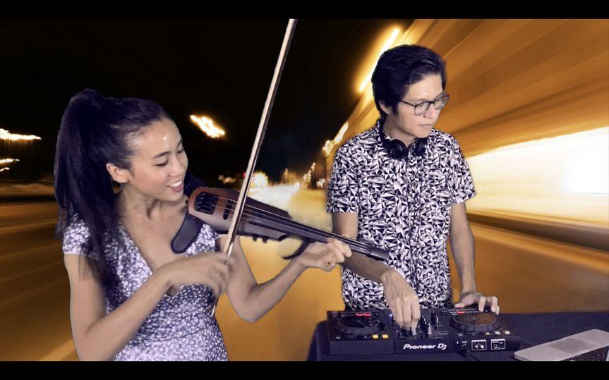 Violin & DJ