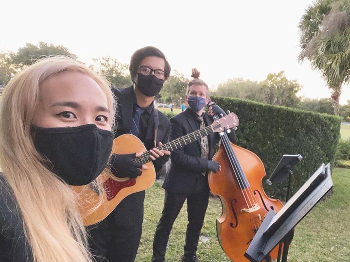 Tmx Sunshine Time Trio Casa Feliz Dec 2020 51 1886295 161097535599355 Orlando, FL wedding ceremonymusic