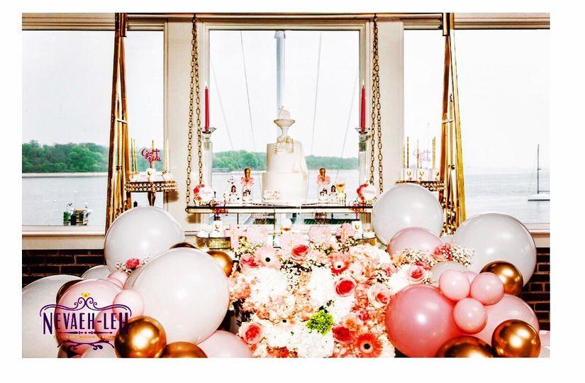 Balloon  Floral decor