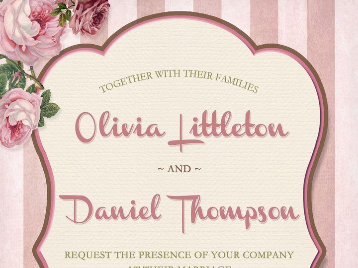 Tmx 1438284539778 Wedding Invitation 5x7 Cary wedding invitation