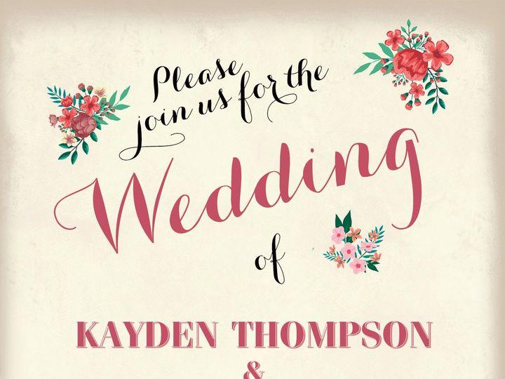 Tmx 1438284550723 Wedding Invitation 5x7 Cary wedding invitation