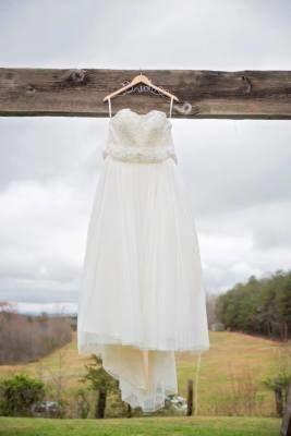 Wedding dress before I do