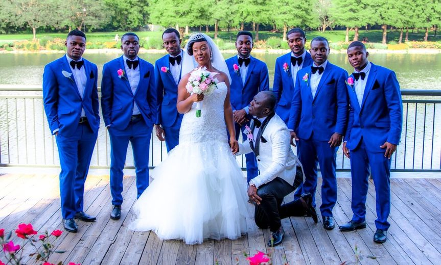 August 2017 with our down to earth bride and groom with his groomsmen at the picked out venue for...