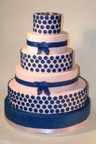 A custom made cake for a unique bride