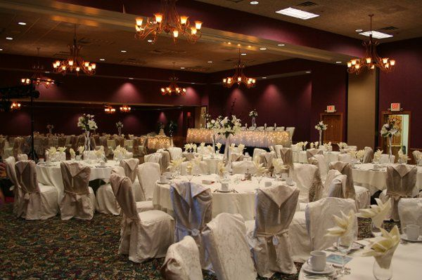 white chair covers for your reception
