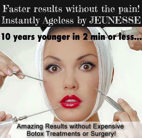 WHY BOTOX when you can have the same results with Luminesce!!
