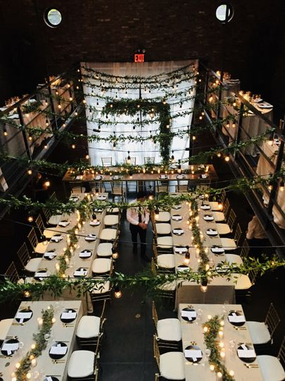 Reception hall | Amber Gress Photography