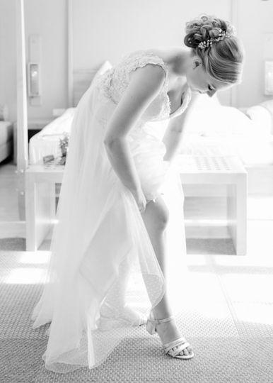 Coleen's Bridal look