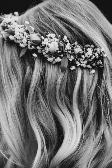 Susie's Wedding Hair
