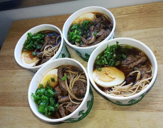 Entrees in a bowl