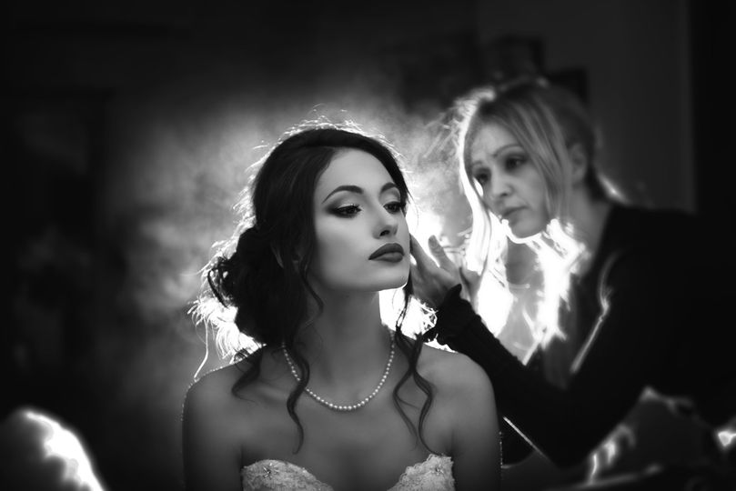 Bride is almost ready