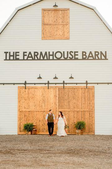 Front Barn doors shut