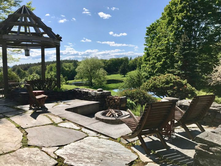 Tmx Back Terrace And Fire Pit Area With Stunning Views  51 1951395 158292470489570 Plainfield, NH wedding venue