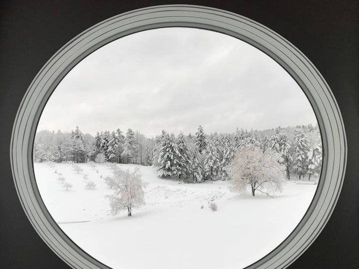 Tmx Winter View From Meditation Room Available In Barn  51 1951395 158292591322052 Plainfield, NH wedding venue