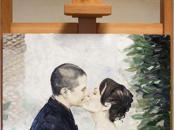 Tmx 1455740093752 Wedding Painting With Easel Final B Atascadero, California wedding favor