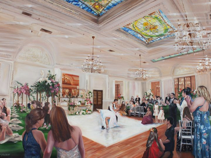 Tmx Alexandria Ballroom La Live Wedding Painting 30x40 Millenaar Knot 51 171395 161551865837670 Atascadero, California wedding favor