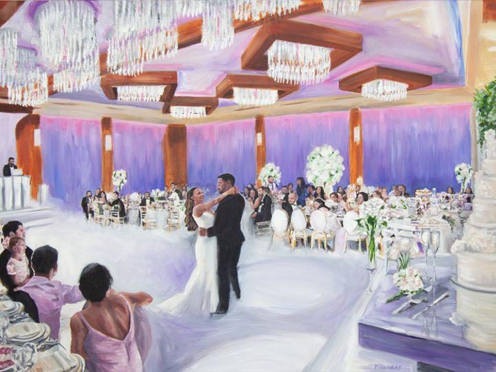 Tmx Glendale Live Wedding Painting Ballroom Luxury First Dance Painter Art 51 171395 159943833398299 Atascadero, California wedding favor