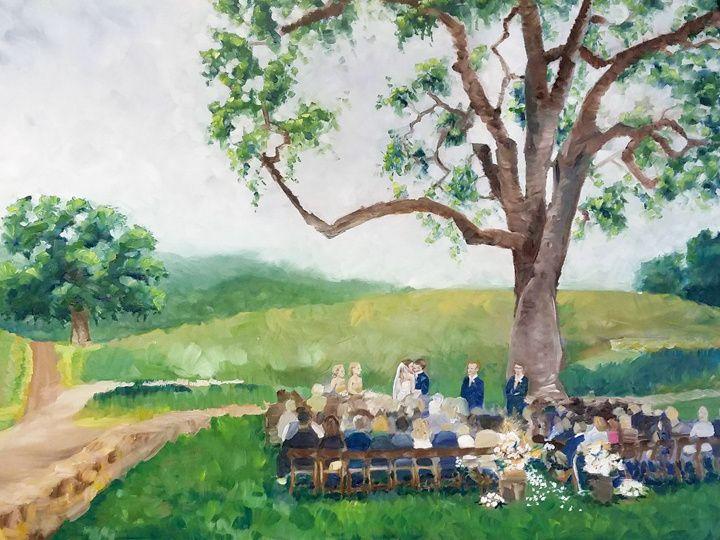 Tmx Hammersky Painting Sm  51 171395 Atascadero, California wedding favor