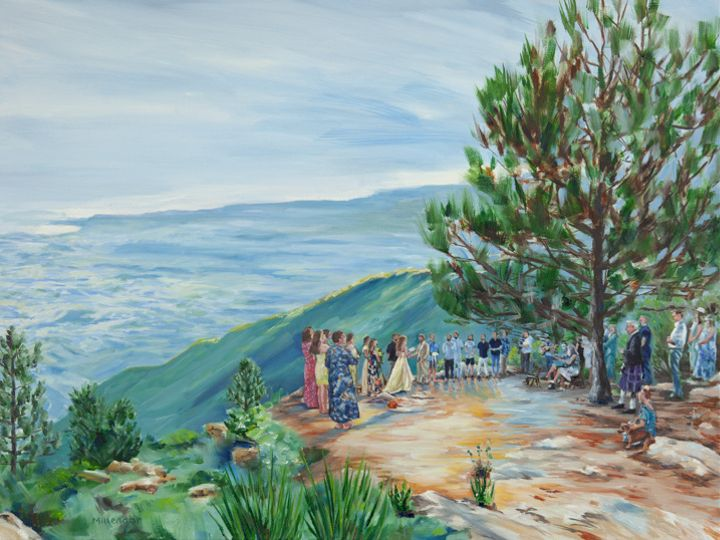Tmx La Cumbre Peak Santa Barbara Live Wedding Painting 18x24 Millenaar Sm 51 171395 161551868393875 Atascadero, California wedding favor