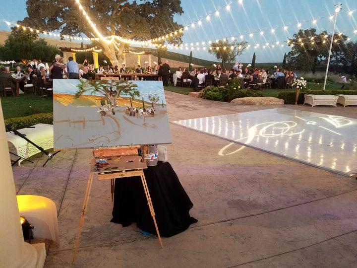 Tmx Live Wedding Art Painting Villa San Juliette By Heather Millenaar 51 171395 Atascadero, California wedding favor