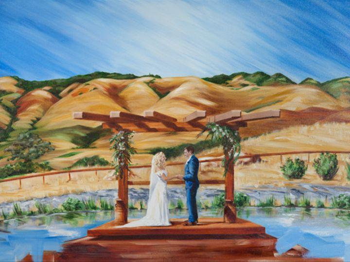 Tmx Peppertree Live Wedding Painting Heather Millenaar 51 171395 Atascadero, California wedding favor